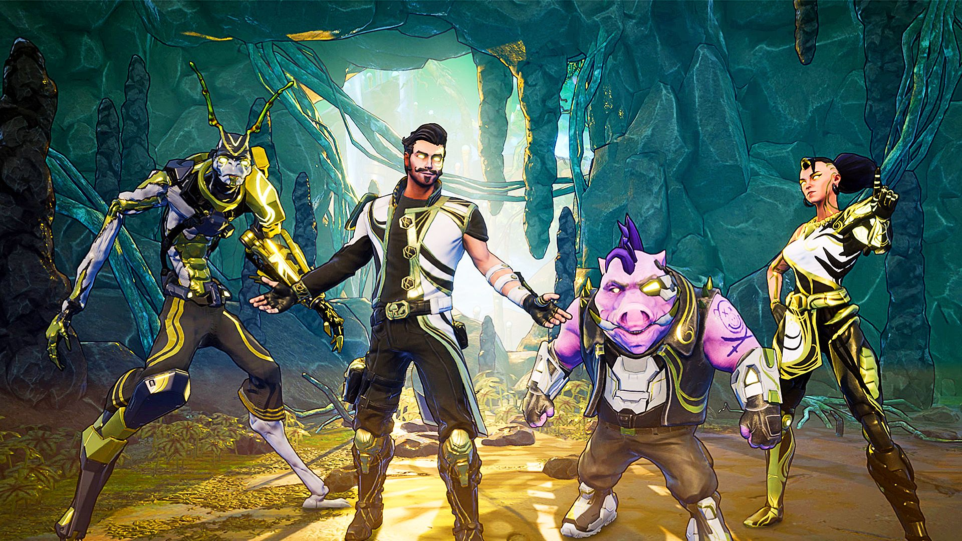 Space Punks is a Borderlands-style co-op spin on Helldivers