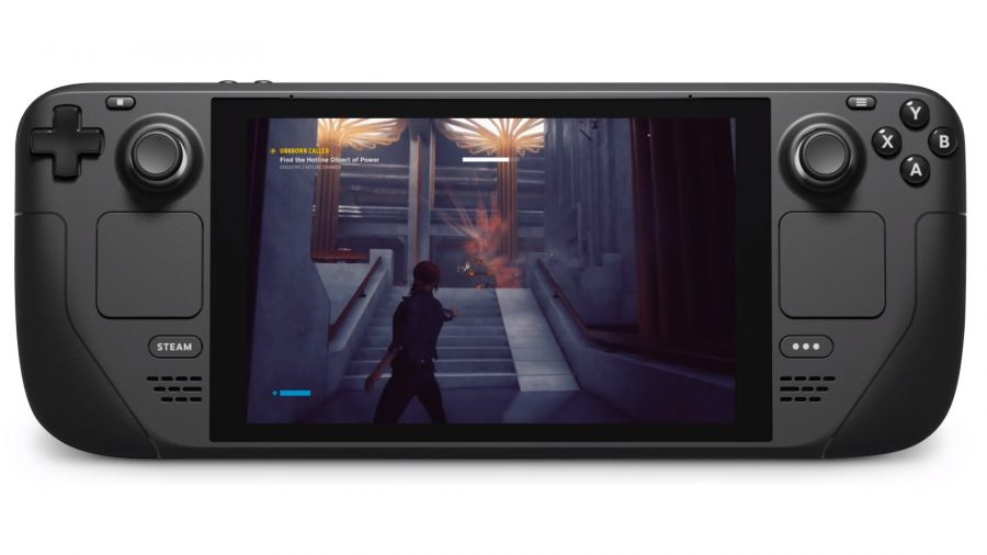 The new handheld gaming PC from Valve, with an AMD APU inside