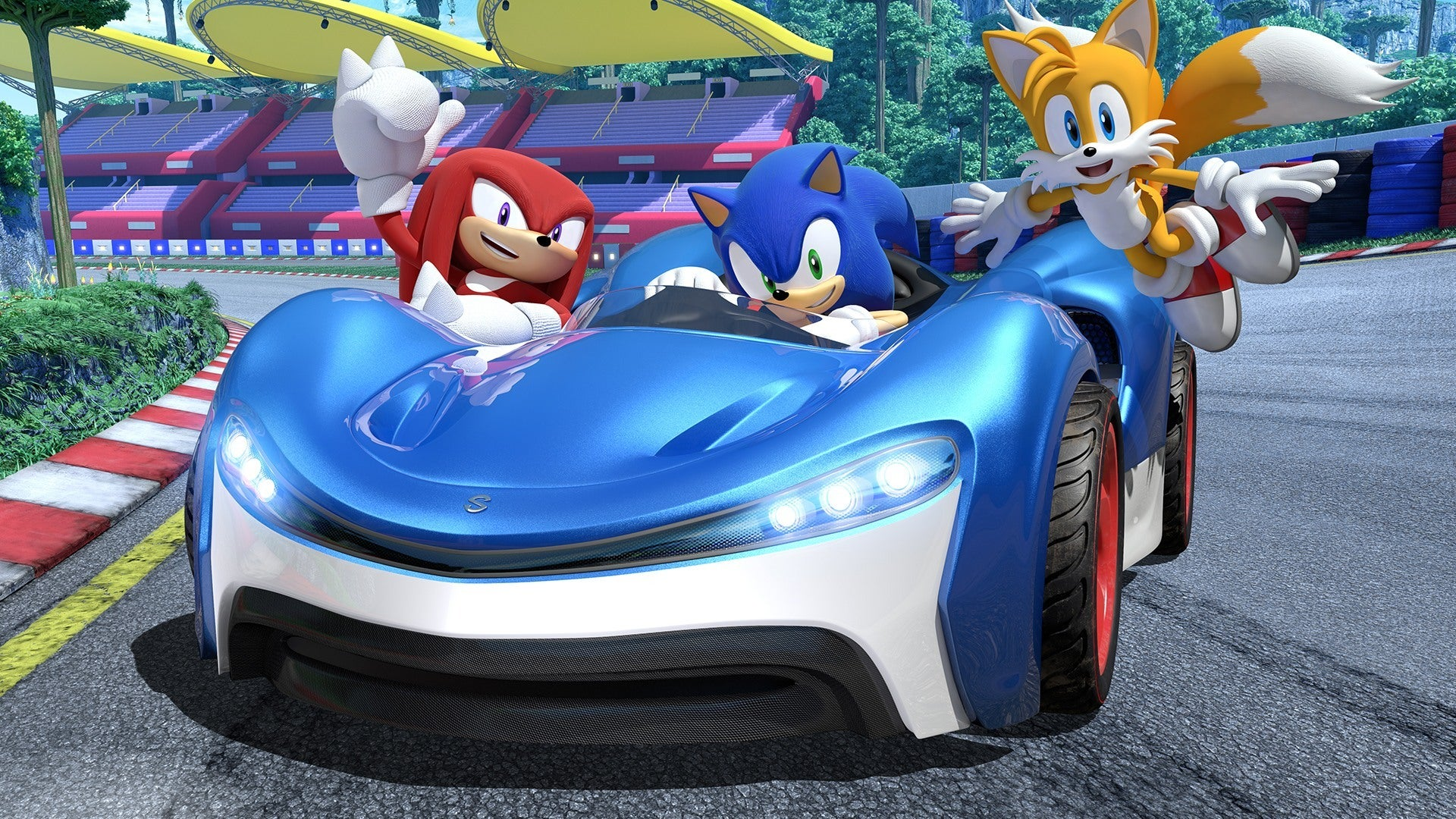 Team Sonic Racing may be getting a special edition for some reason