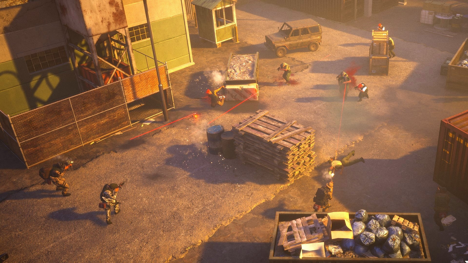Top-down tactical shooter Thunder Tier One will run another closed beta