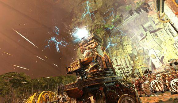 Thorek Ironbrow in strategy game Total War Warhammer 2