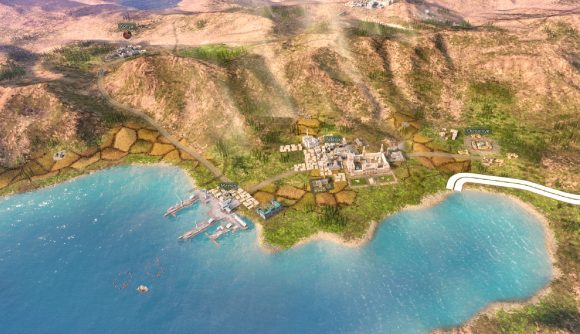 A shot of Victoria 3's campaign map, focusing on a part of Turkey's coastline