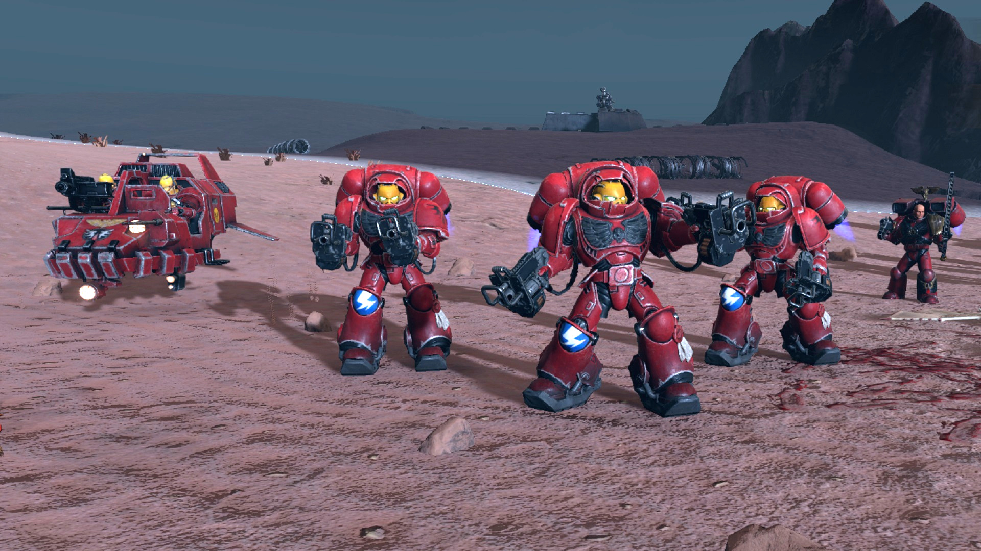 Warhammer 40,000: Battlesector review – faith and (muted) fury