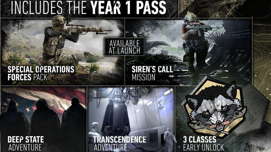 Pass année 1 de Ghost Recon Breakpoint