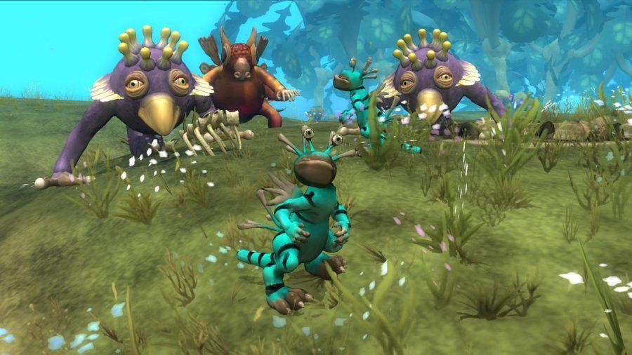 Quelques créatures très curieuses du jeu Spore