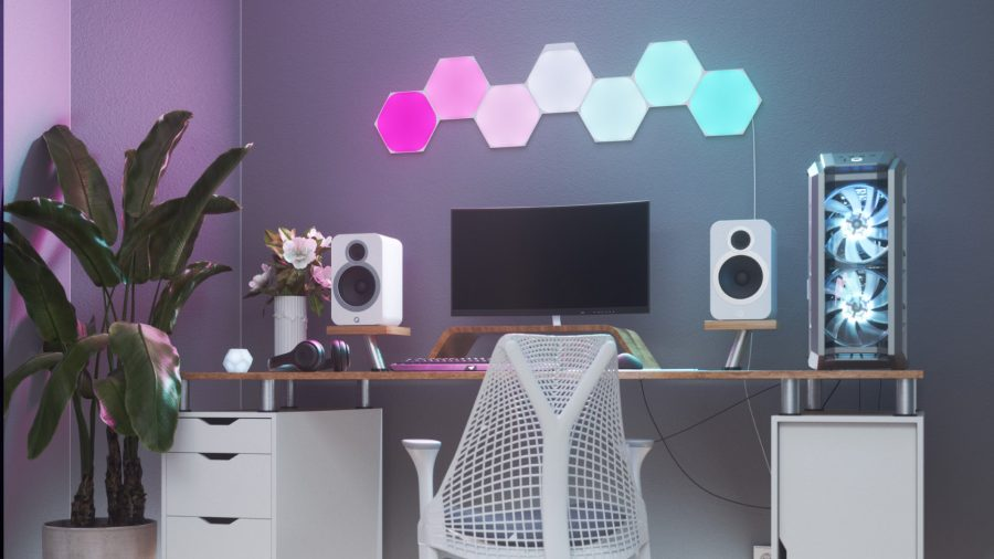 These are the best lighting strips and panels you can decorate your gaming PC and home office with