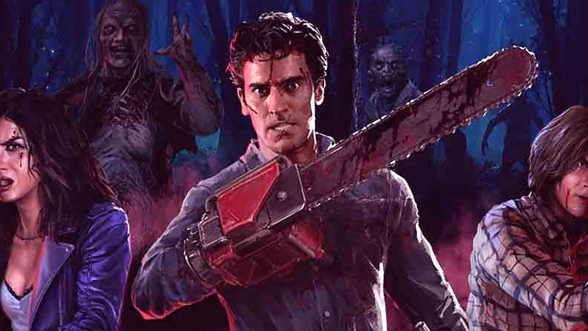 The Evil Dead game's missing the movie's 40th anniversary to add single-player
