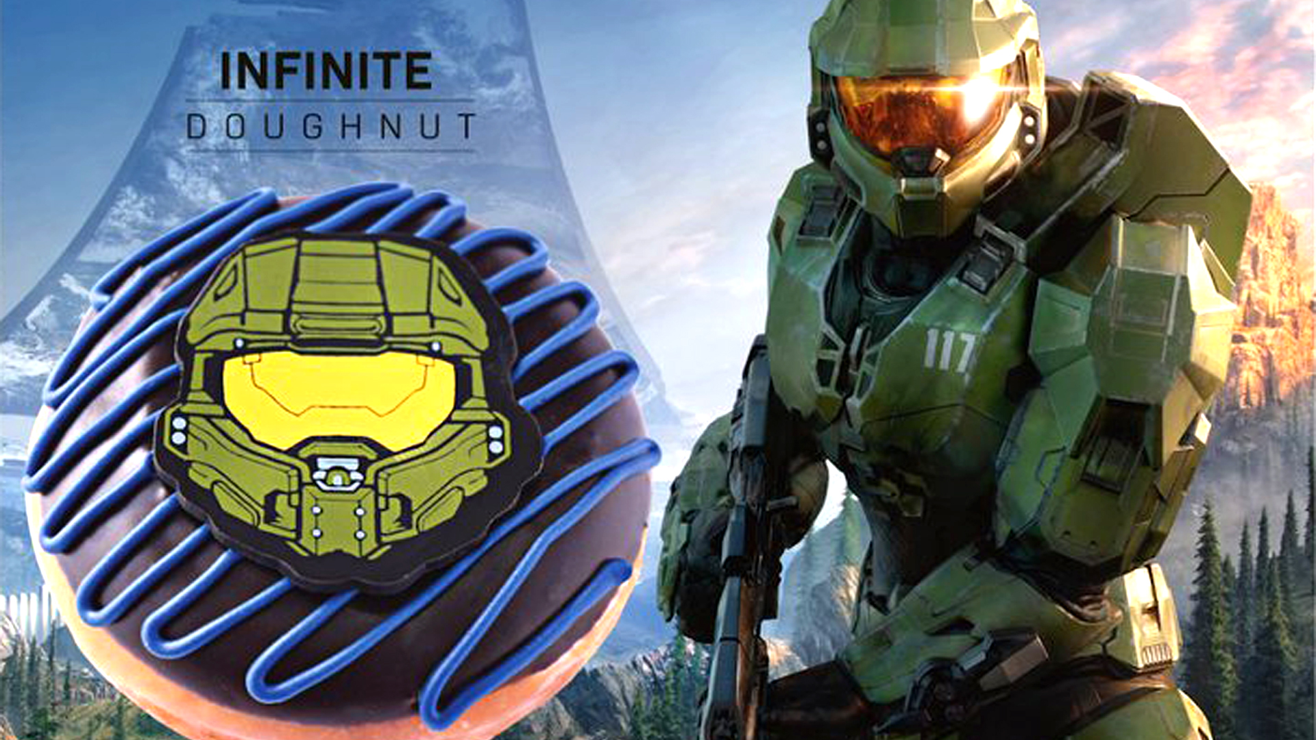 Halo Infinite's release month may have been leaked by Xbox and Krispy Kreme