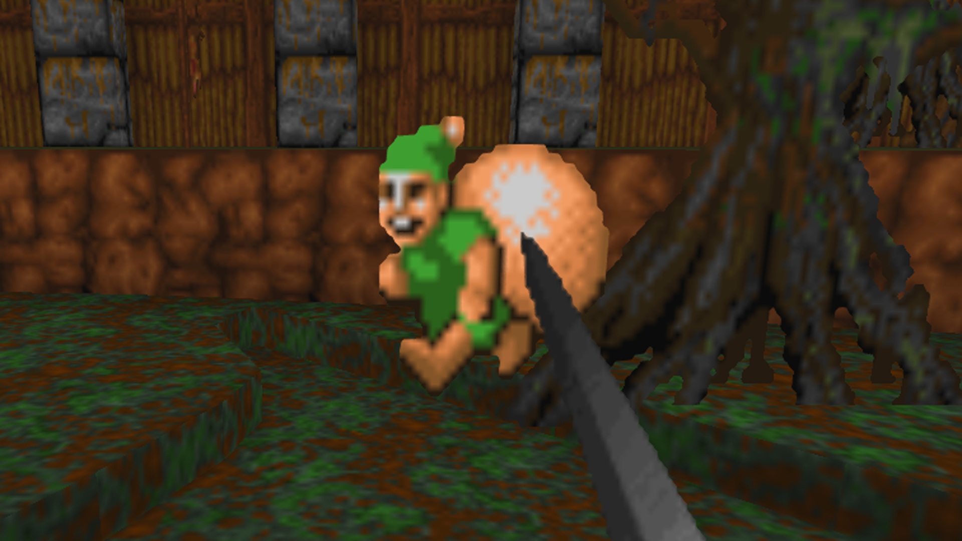 Here's Golden Axe remade in Doom, and you can try it now