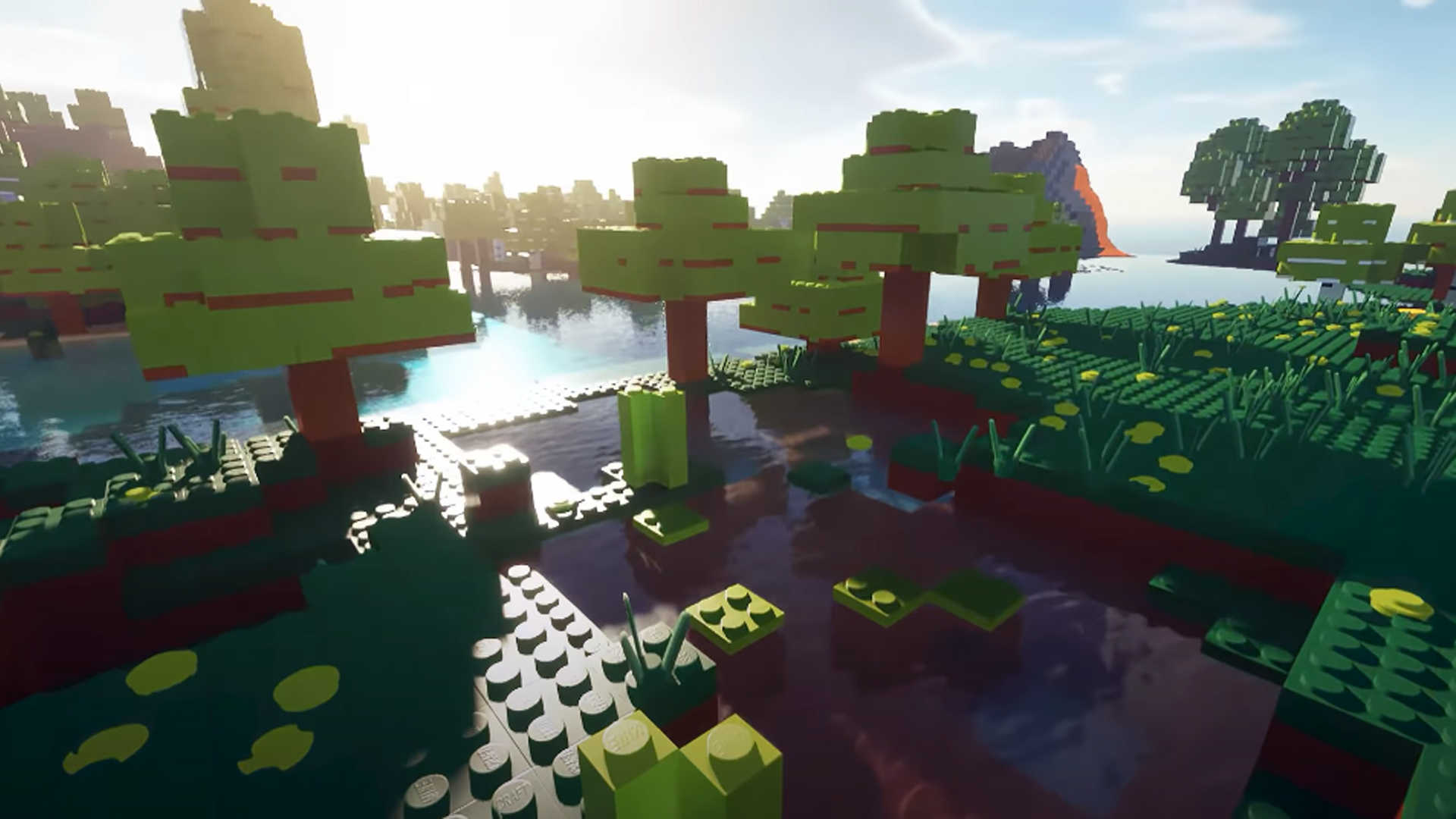 Someone finally turned Minecraft into a LEGO game