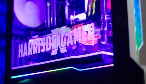 Overclockers makes a custom gaming PC for actor Harrison Davis