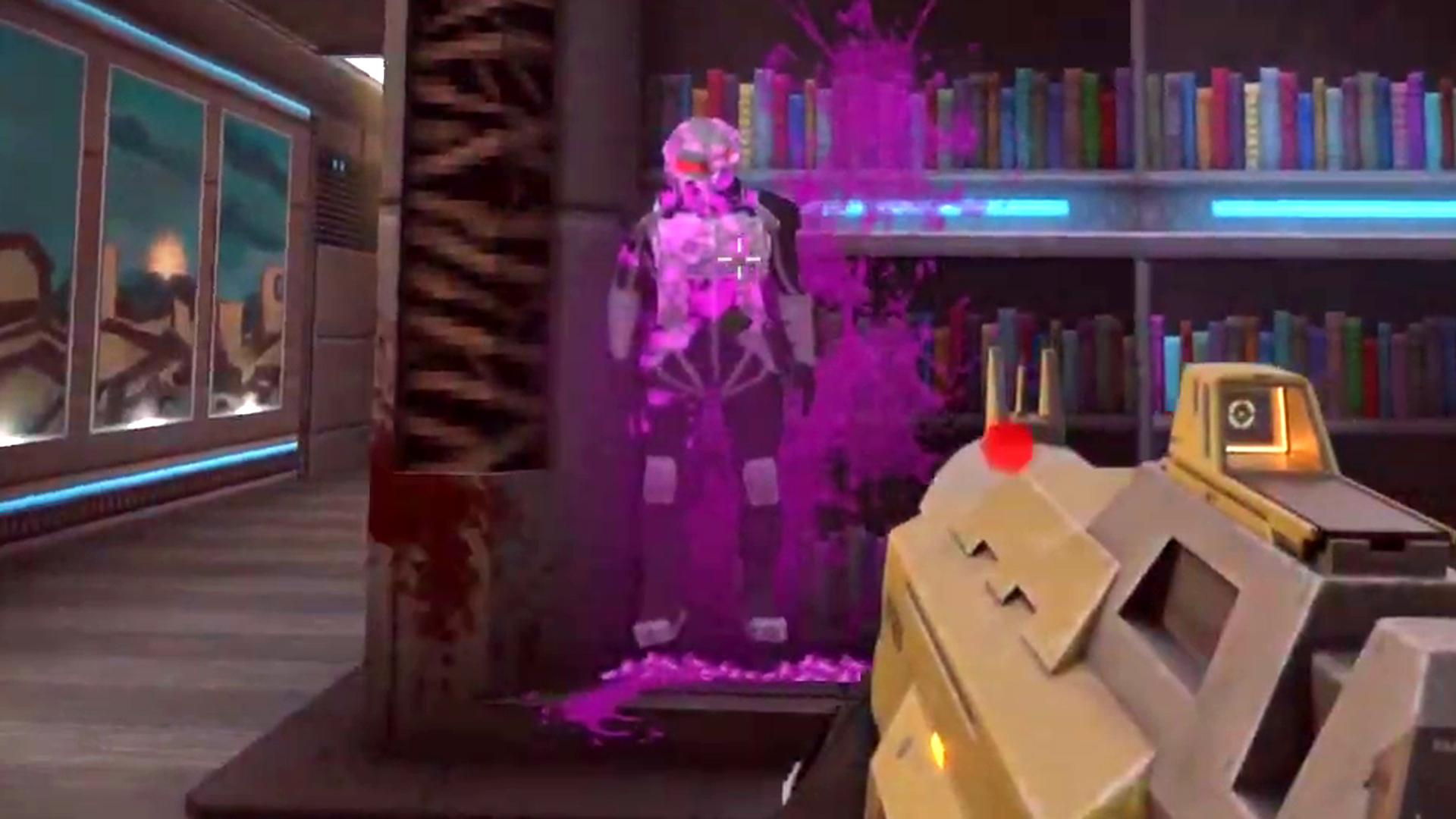 F.E.A.R.-inspired FPS Selaco adds its iconic Nailgun and a killer banana