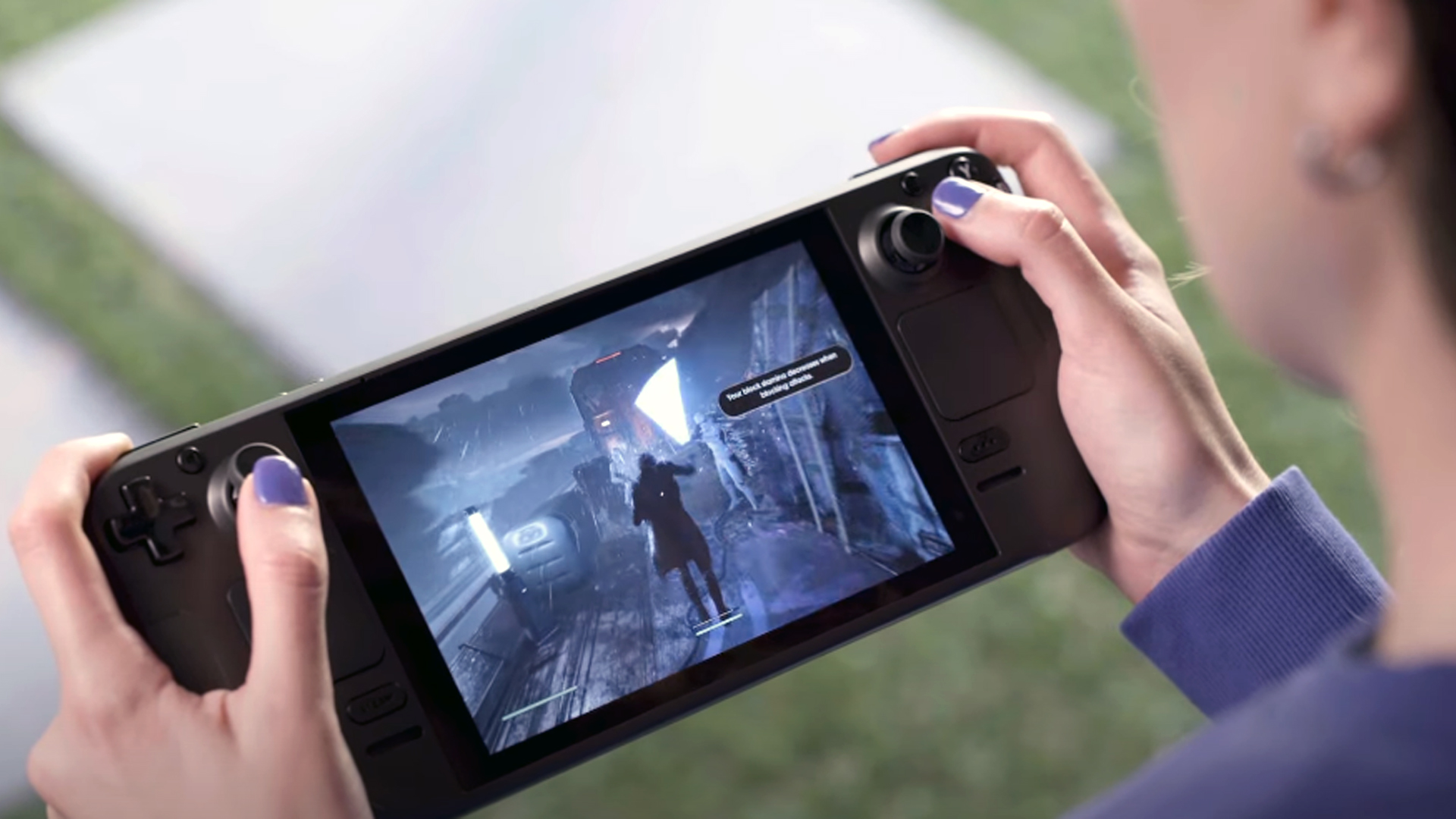 """Steam Deck's first ad proclaims it """"the most powerful gaming handheld in the world"""""""