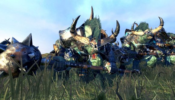 Slaangors from Team Radious' Total War: Warhammer 2 mod