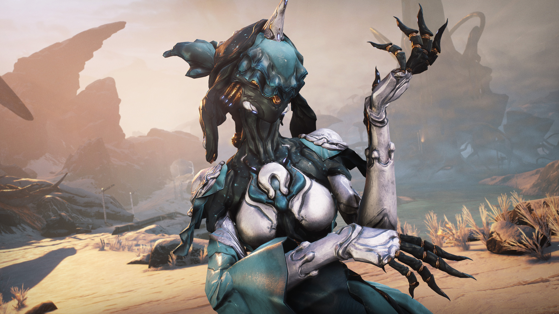 Warframe's pirate radio host is back with Nightwave: Nora's Choice