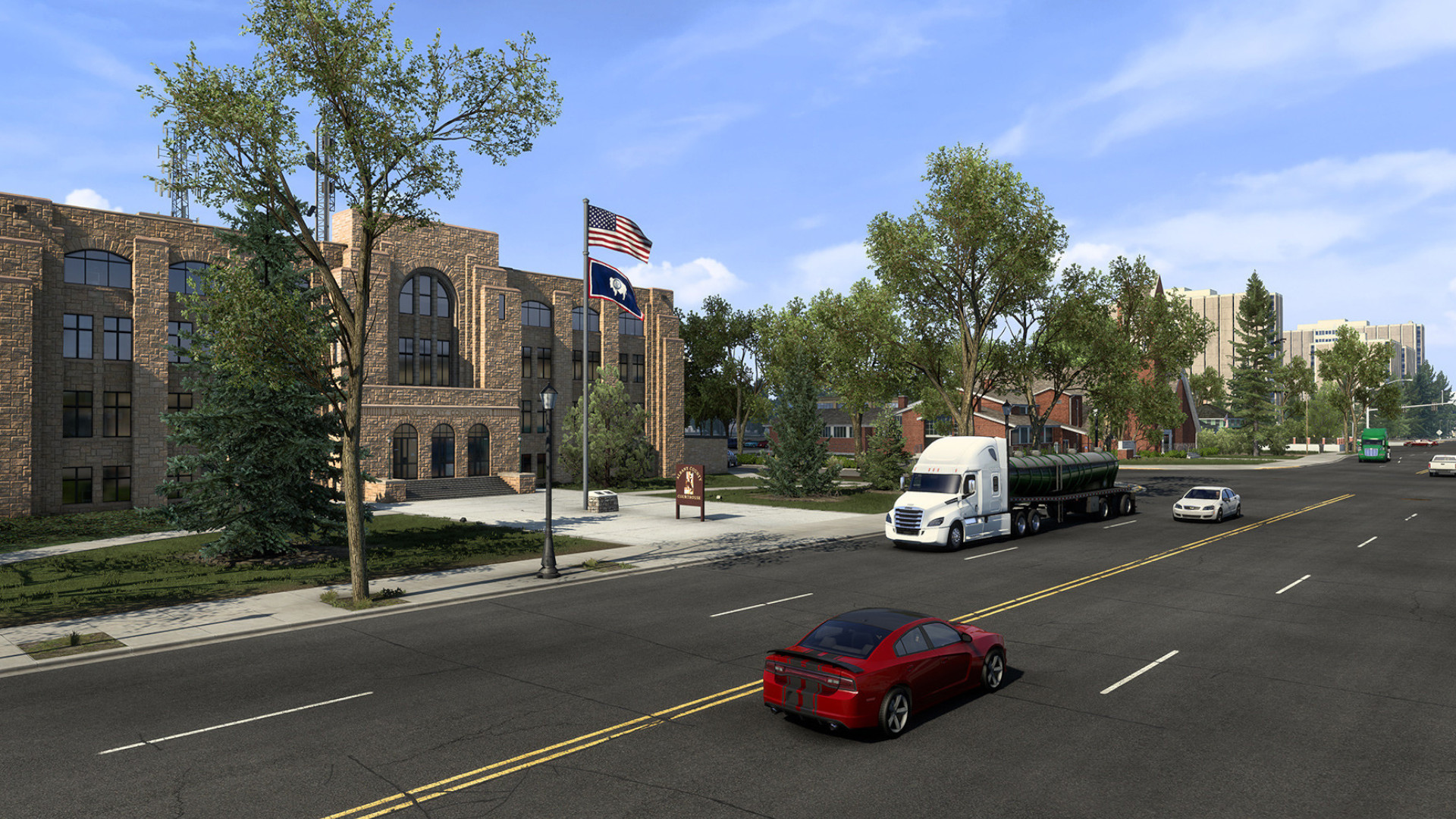 Wyoming release date confirmed (the American Truck Simulator DLC, not the state)