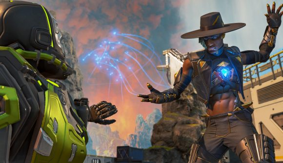 Seer doing what he does best in Apex Legends - and it looks like a new nerf won't hurt him too much
