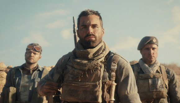Three characters in Call of Duty: Vanguard