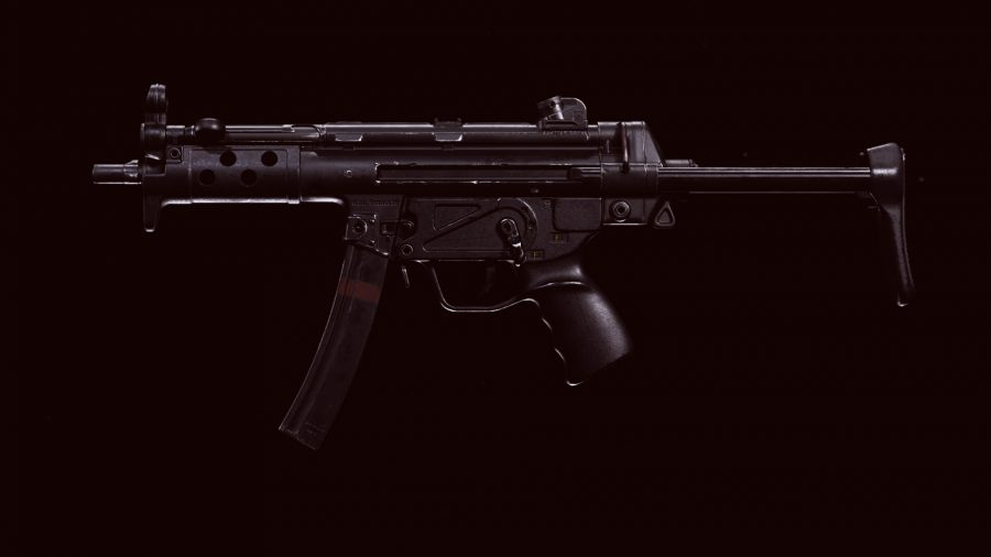 The Cold War MP5 in Call of Duty Warzone's preview menu