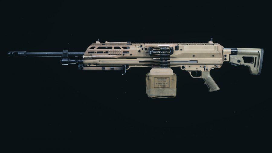 The RAAL MG LMG introduced in Warzone Season 5