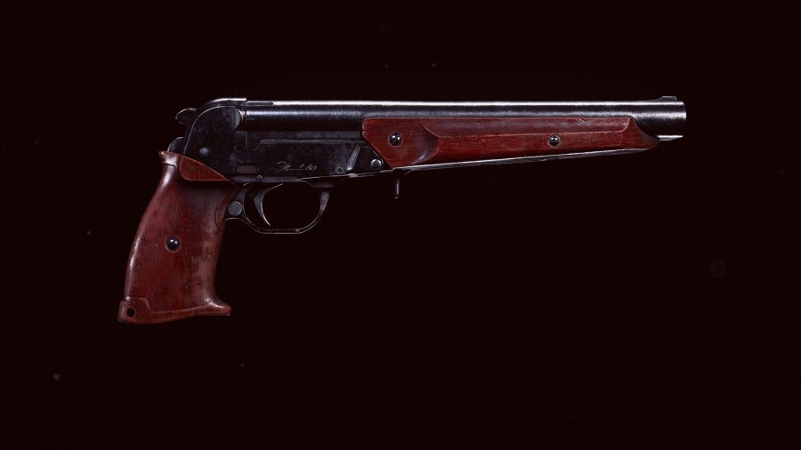 The Marshal pistol introduced in Warzone Season 5