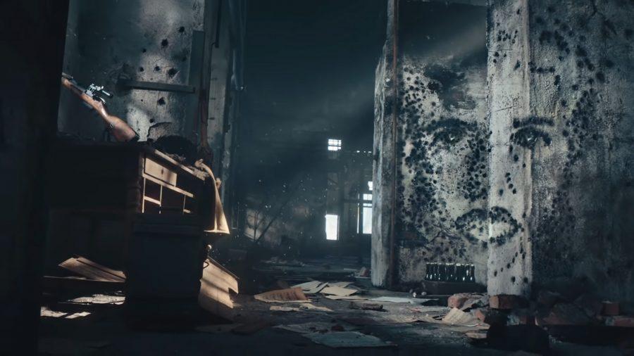 Le visage de Nina Petrova dans un teaser pour Call of Duty Vanguard