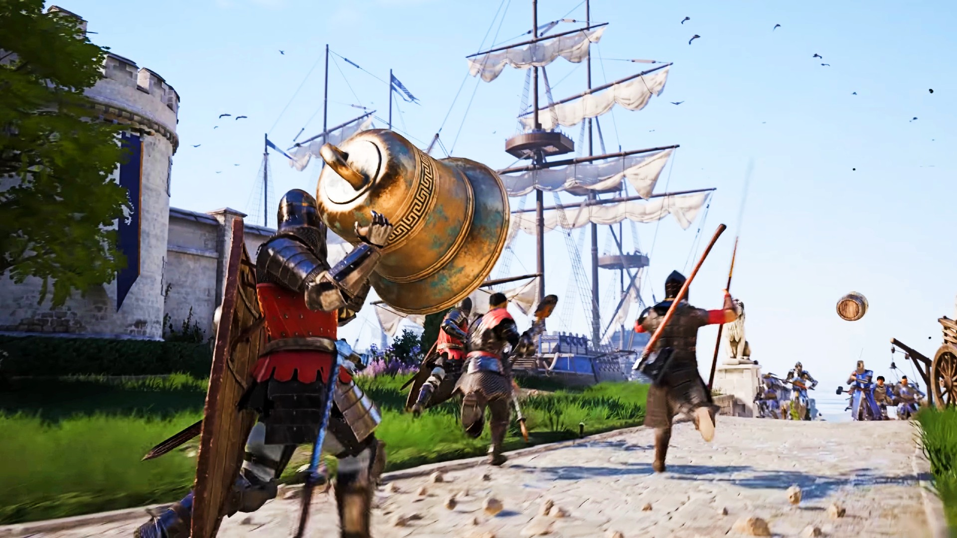 Chivalry 2 adds two free new maps and arena mode