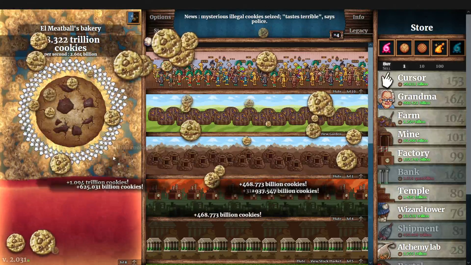 Cookie Clicker is coming to Steam, with music by the Minecraft composer