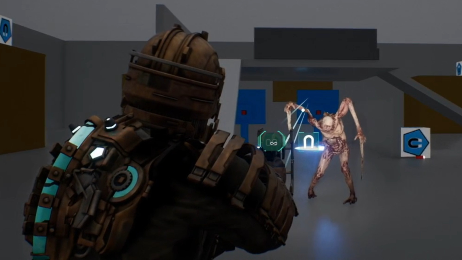 The Dead Space remake's dismemberment expands with a flesh peeling system