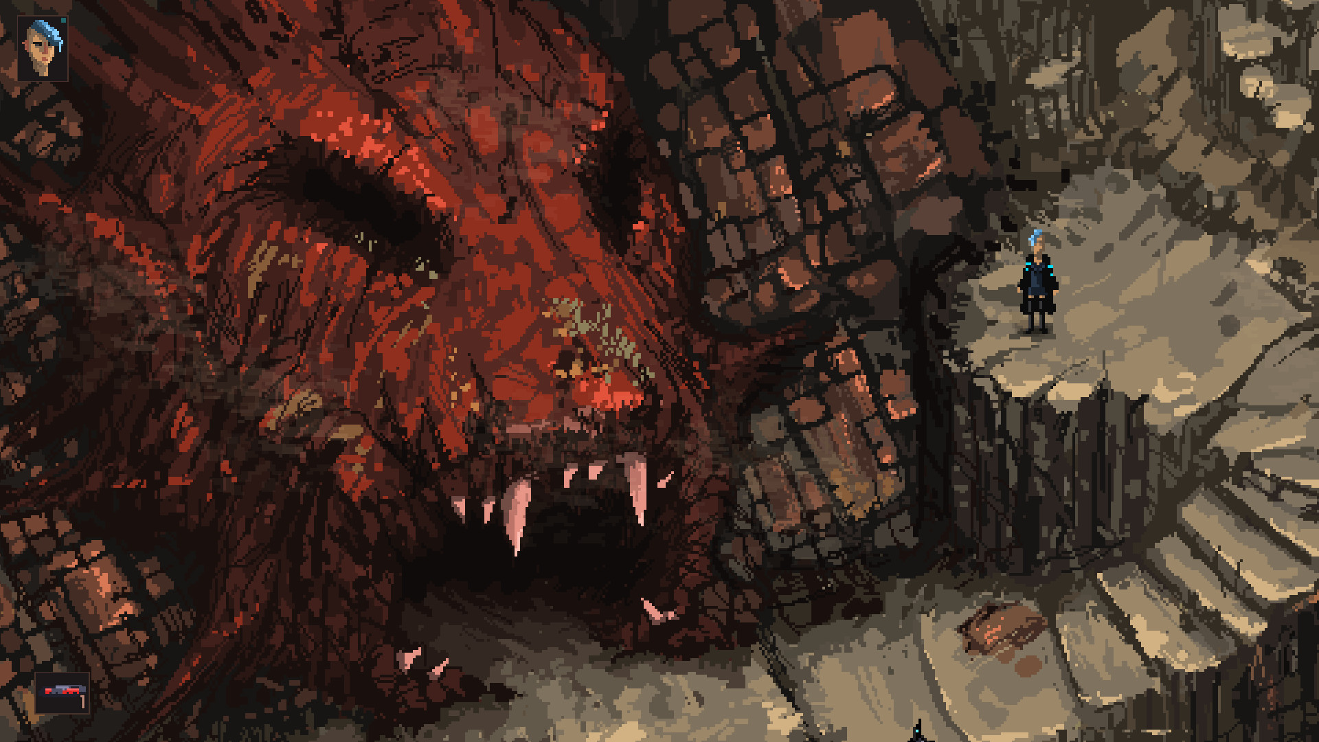 Death Trash, a stylish and nightmarish take on classic Fallout, is now on Steam