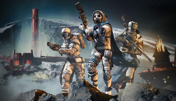A Destiny 2 fireteam