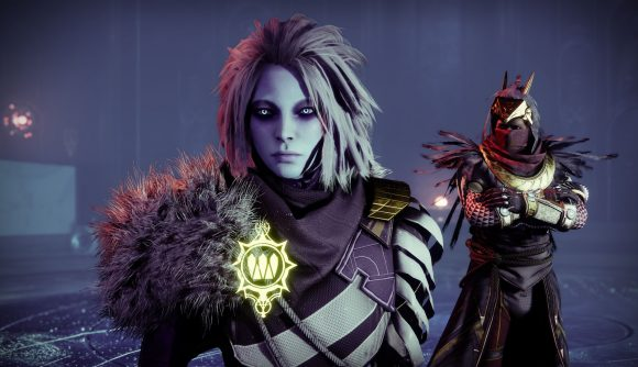 Mara Sov and Osiris stand in the Dreaming City in Destiny 2, in a teaser image for Season 15.