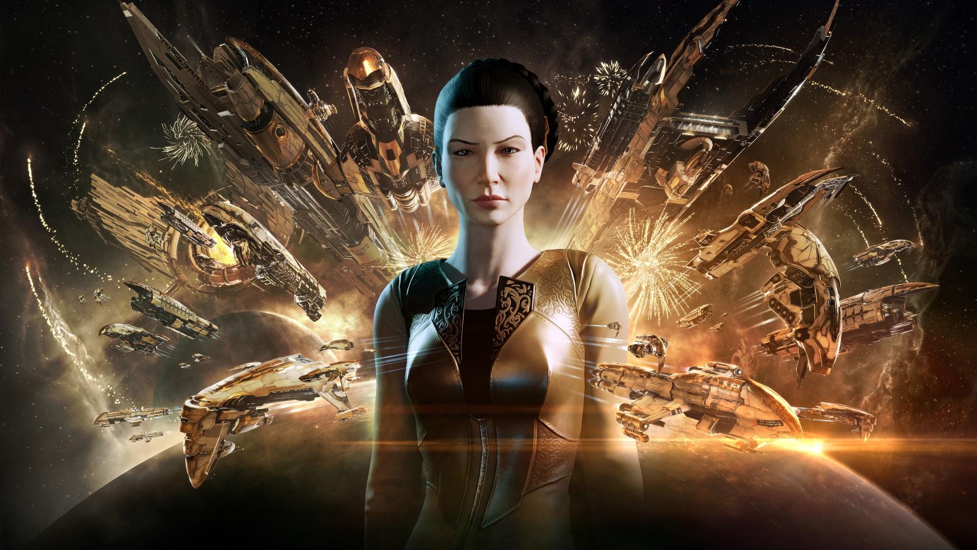Eve Online kicks off the Amarr Empire's week-long Foundation Day celebration