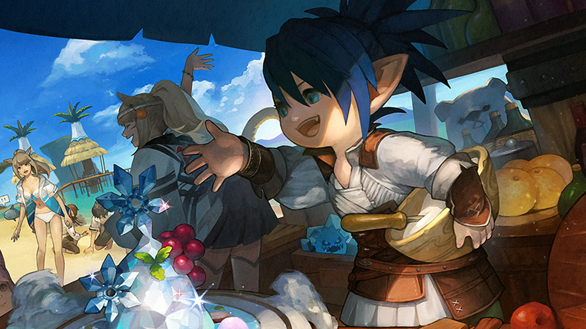 FFXIV's Moonfire Faire is back next week with ice cream and polar bears