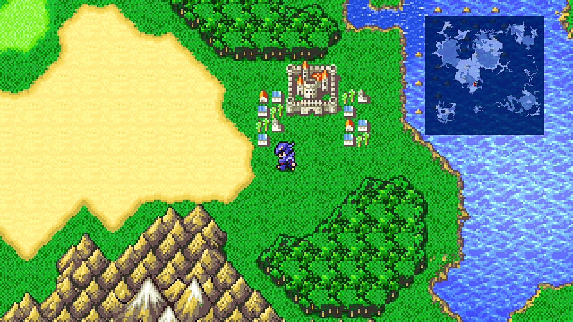 Final Fantasy 4's pixel remaster is out next month