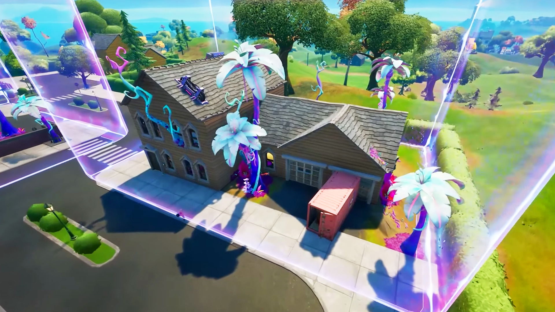 Where to place the Fortnite bioscanner in the alien biome