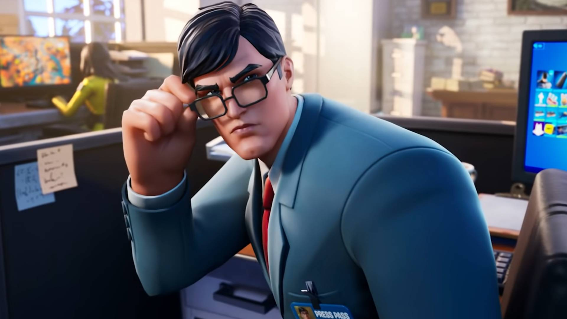 How to get the Clark Kent skin in Fortnite