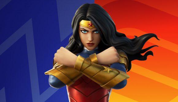 Fortnite's new Wonder Woman skin