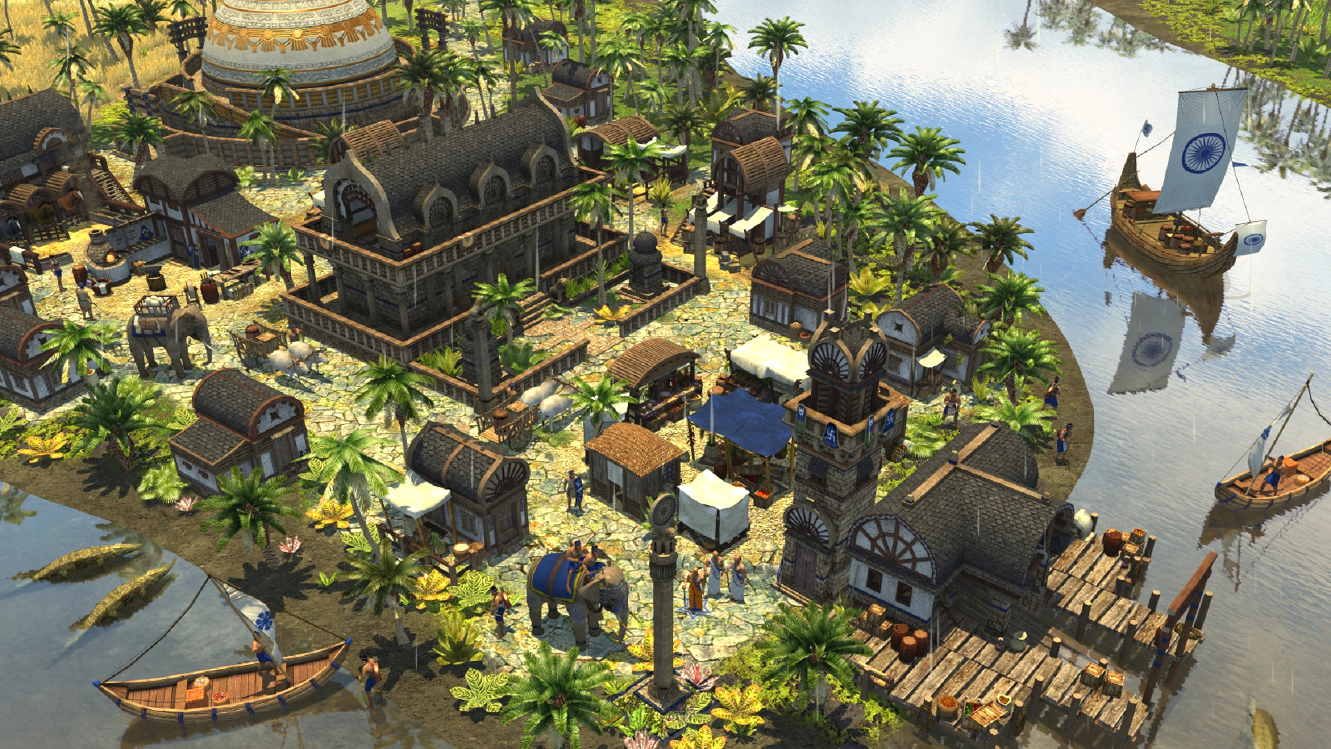 Five strategy games like Age of Empires