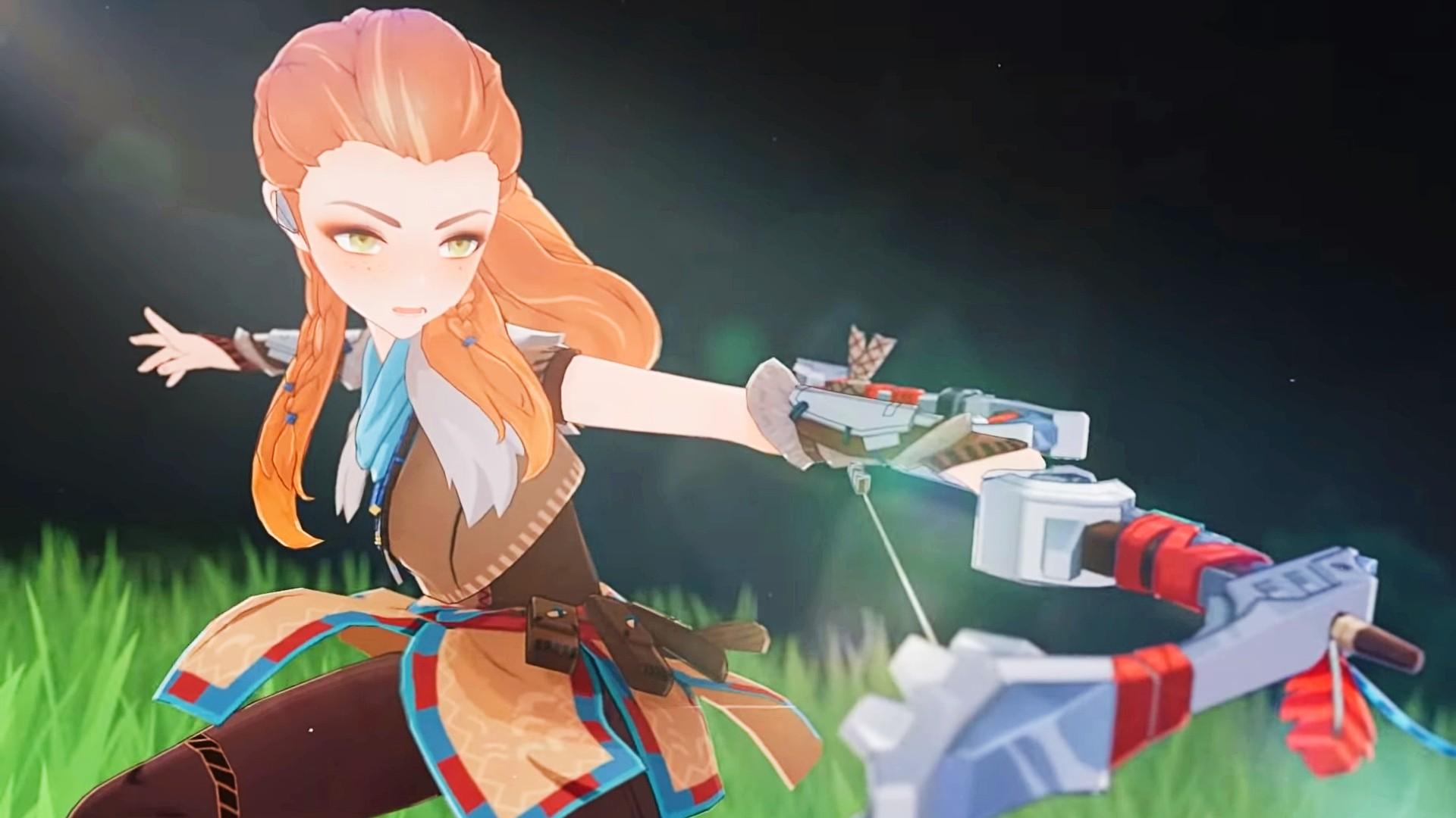 Here's how Horizon Zero Dawn's Aloy will play in Genshin Impact