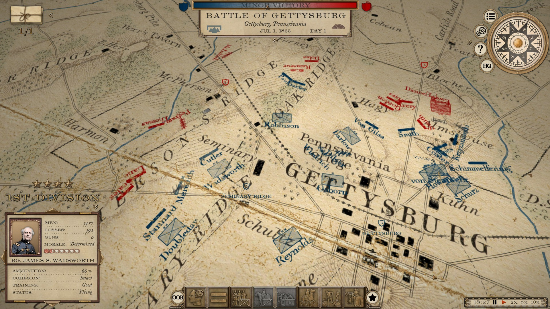 The most ambitious American Civil War game is set to leave Early Access