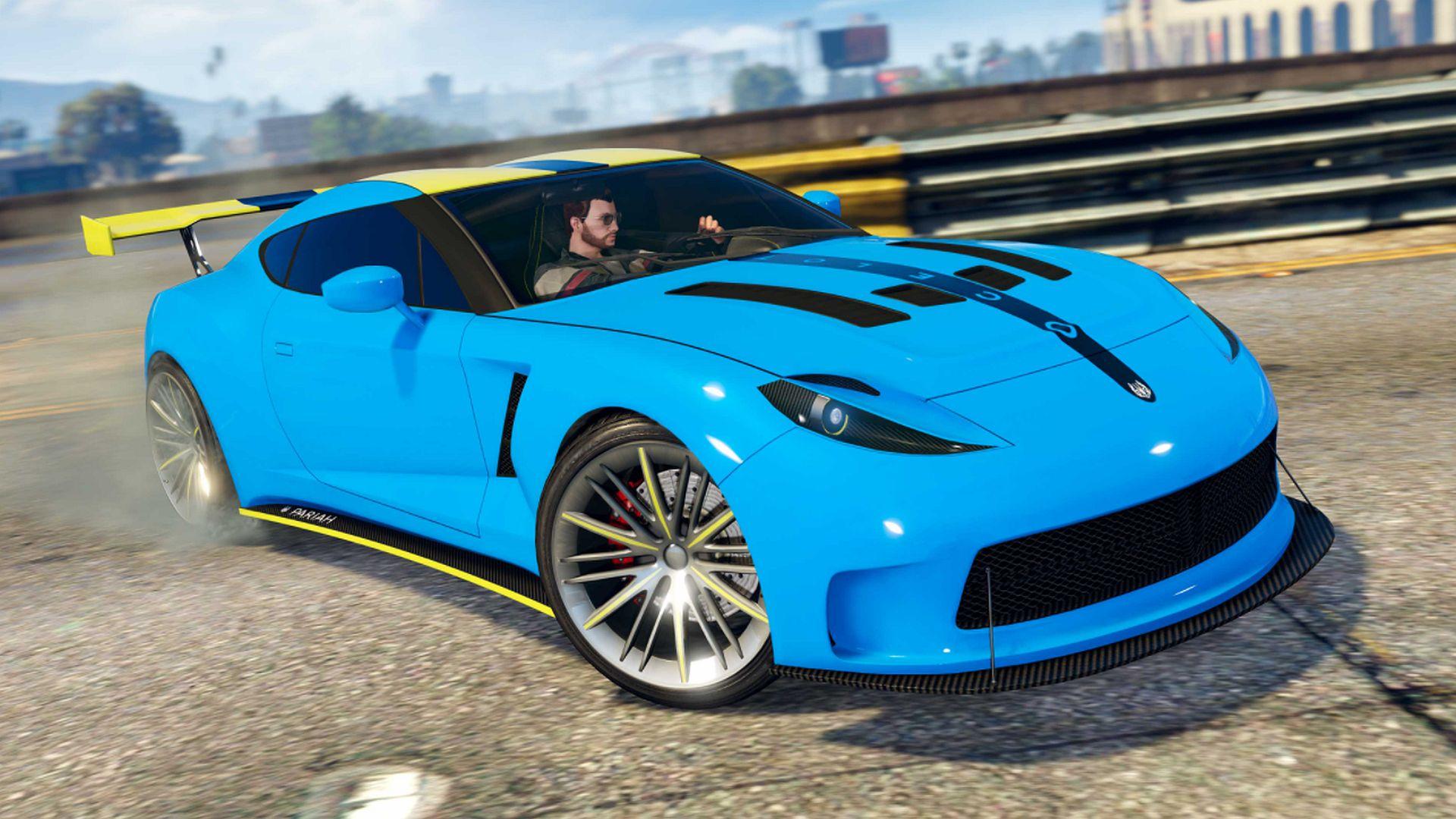 GTA Online's weekly update brings Kart Krash: Full Auto and the Growler