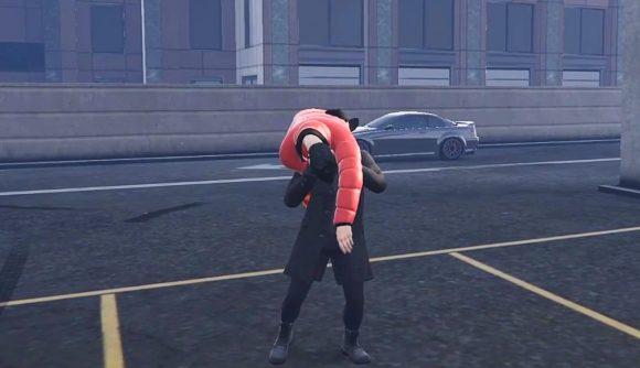 A GTA RP streamer pretending to be The Undertaker