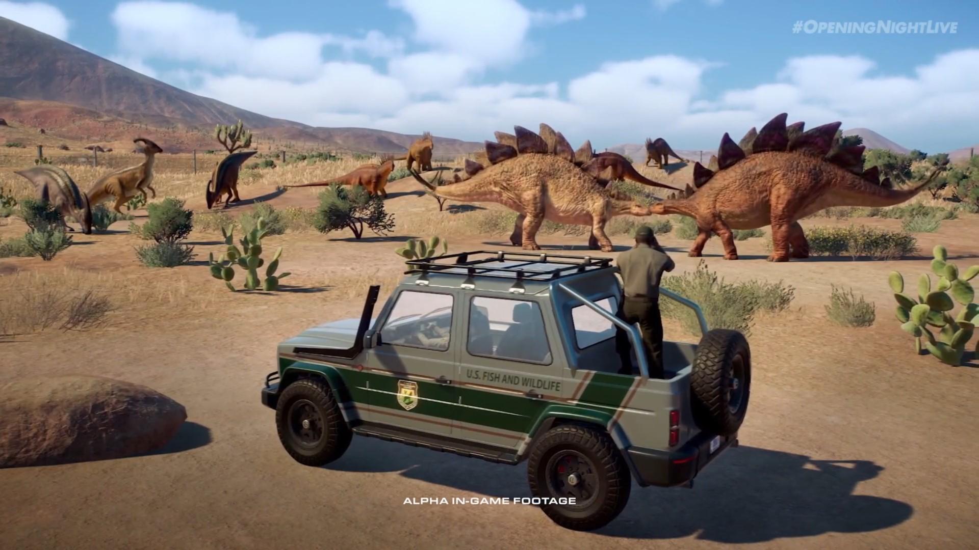 Jurassic World Evolution 2 release date confirmed for November