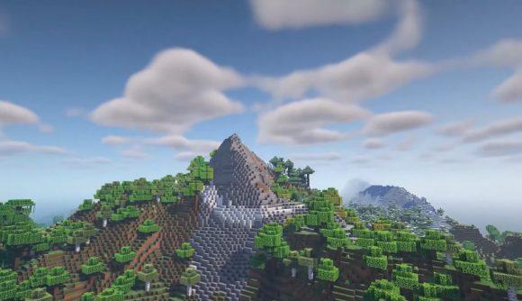 One of the peakier peaks in Minecraft Experimental Snapshot 5