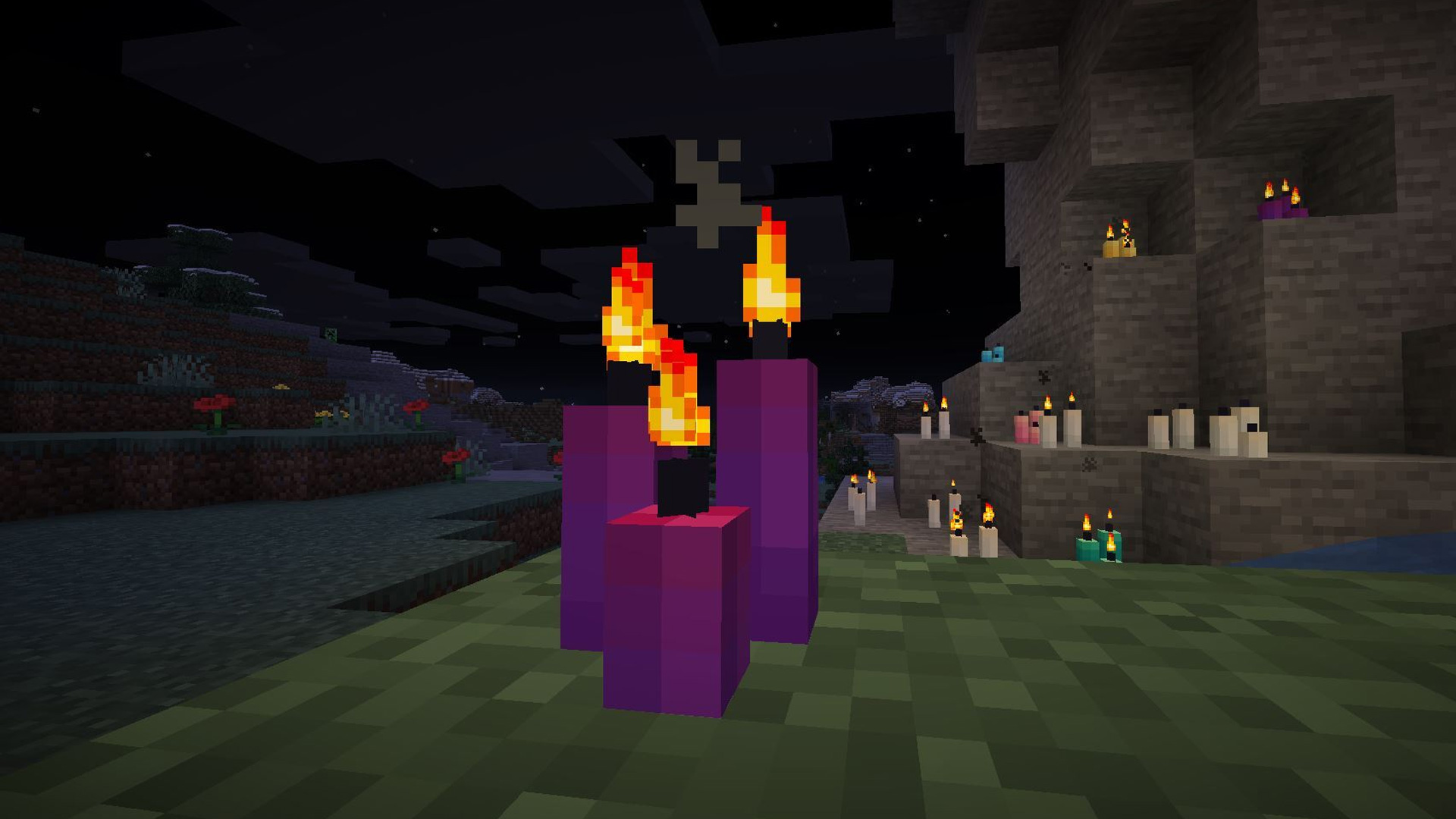 How to light a candle in Minecraft