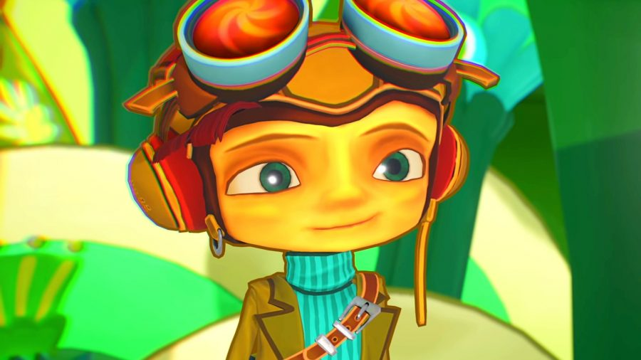 Raz from our Psychonauts 2 review
