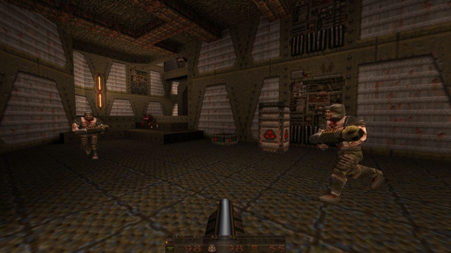 Quake gameplay