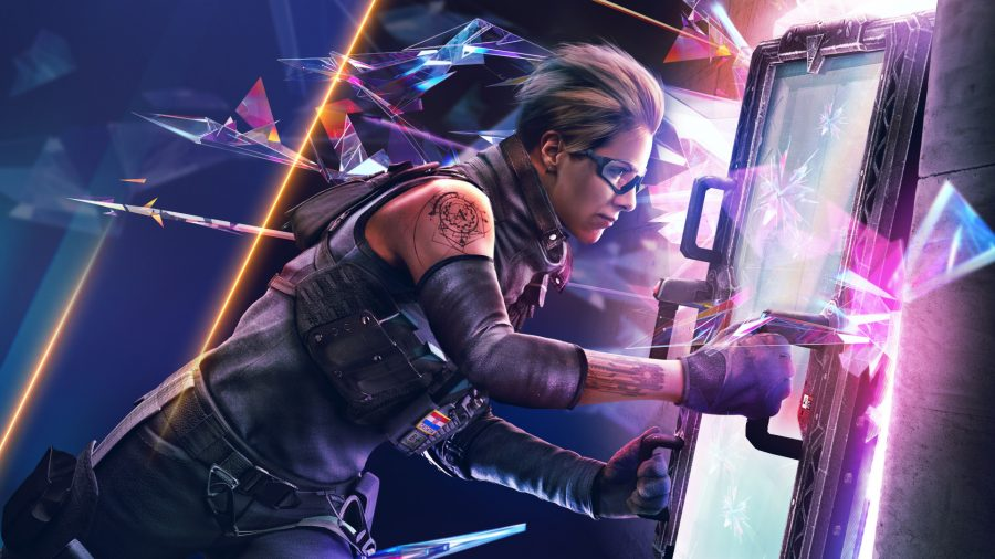 Rainbow Six Siege's next operator, Osa. deploys her shield gadget