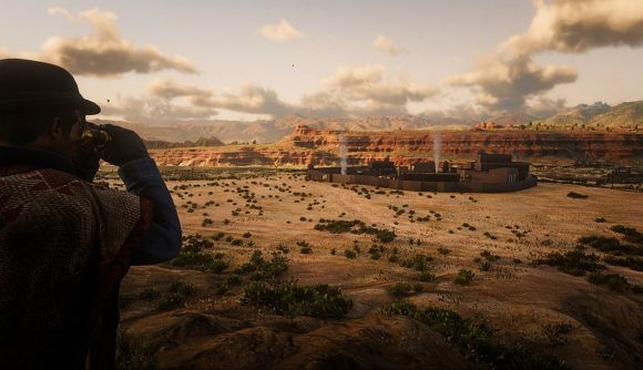 Red Dead Redemption's Chuparosa modded into Red Dead Redemption 2
